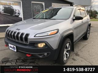 Used 2016 Jeep Cherokee Trailhawk 4 portes 4 roues motrices for sale in St-Georges-de-Champlain, QC
