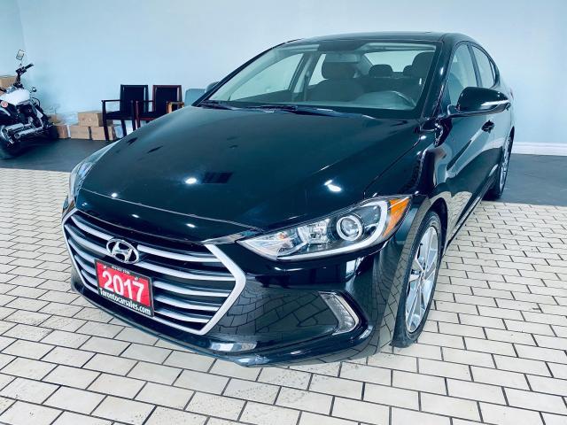 2017 Hyundai Elantra GLS I MOONROOF I NO ACCIDENT I APPLE & ANDROID I