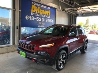 Used 2015 Jeep Cherokee Trailhawk 4x4 | v6, Tow Pkg for sale in Nepean, ON