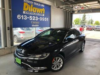 Used 2016 Chrysler 200 C FWD V6 Loaded for sale in Nepean, ON