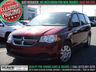 Used 2017 Dodge Grand Caravan SXT | Stow 'N' Go, Cruise, Only 4397 Kms for sale in Nepean, ON
