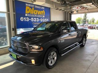 Used 2017 RAM 1500 Sport Crew Cab Long Box | Leather, Sunroof, Nav for sale in Nepean, ON