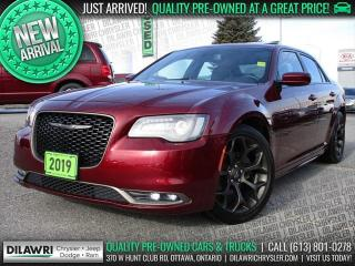 Used 2019 Chrysler 300 S | Navigation, Leather, Pano-Sunroof for sale in Nepean, ON