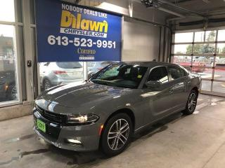 Used 2019 Dodge Charger SXT Plus AWD | Navi, Leather, Sunroof for sale in Nepean, ON