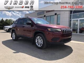 New 2019 Jeep Cherokee Sport for sale in Virden, MB