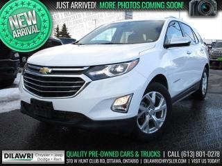 Used 2020 Chevrolet Equinox Premier AWD | Leather, Remote Start, Rear Camera for sale in Nepean, ON