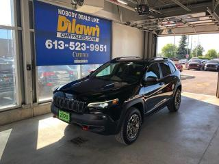 Used 2020 Jeep Cherokee Trailhawk 4X4 |V6, Leather for sale in Nepean, ON