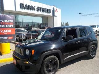 Used 2015 Jeep Renegade MANUAL Sport[FWD] OnLY 64,000kM for sale in Gloucester, ON