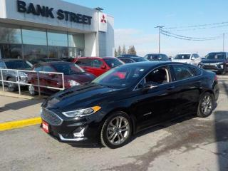 Used 2019 Ford Fusion Hybrid Titanium  -#NAV #ROOF #LTHR #ACSEATS for sale in Gloucester, ON