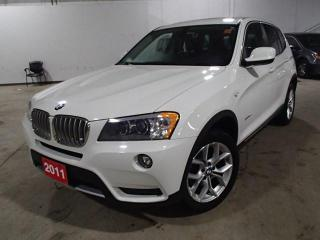 Used 2011 BMW X3 X3 LOADED LEATHER ROOF NAV & MORE for sale in Nepean, ON