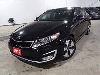Used 2012 Kia Optima Hybrid OPTIMA HYBRID  PREM. LEATHER NAV ROOF & MORE for sale in Nepean, ON