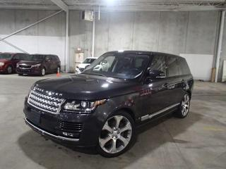 Used 2016 Land Rover Range Rover RANGE ROVER AUTOBIOGRAPHY SUPER CHARGED for sale in Nepean, ON