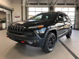 Used 2016 Jeep Cherokee 4X4 Trailhawk Loaded One Owner w Clean Carproof for sale in Ottawa, ON