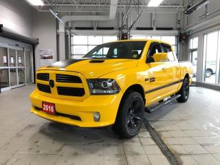 Used 2016 RAM 1500 Sport Crew 4X4 load w Sunroof 3.92 Navi for sale in Ottawa, ON