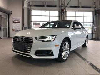 Used 2018 Audi A4 AWD Quattro Technik w/ S tronic Fully Loaded for sale in Ottawa, ON