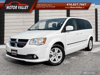 Used 2013 Dodge Grand Caravan Crew Plus NAVIGATION - DVD - LEATHER Loaded! for sale in Scarborough, ON