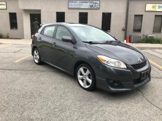Used 2009 Toyota Matrix SHARP XR FWD,SUNROOF ,CERTIFIED! for sale in Burlington, ON