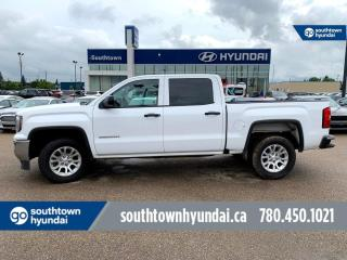 Used 2017 GMC Sierra 1500 4x4 CREW CAB/BACKUP CAM/BLUETOOTH/POWER OPTIONS for sale in Edmonton, AB