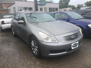 Used 2009 Infiniti G37 Luxury-AS-IS for sale in Mississauga, ON
