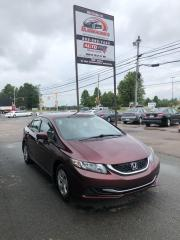 Used 2014 Honda Civic LX Only $85 BI-Weekly! for sale in Truro, NS