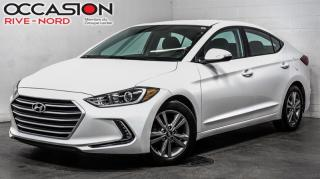 Used 2017 Hyundai Elantra GL SIEGES.CHAUFFANTS+BLUETOOTH+A/C for sale in Boisbriand, QC