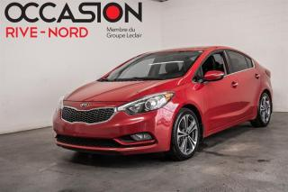 Used 2016 Kia Forte EX MAGS+SIEGES.CHAUFFANTS+CAM.RECUL for sale in Boisbriand, QC