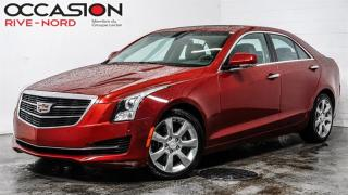 Used 2016 Cadillac ATS AWD 2.0L Luxury NAVI+CUIR+TOIT.OUVRANT for sale in Boisbriand, QC