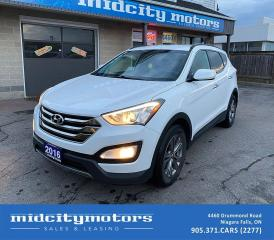 Used 2016 Hyundai Santa Fe Sport Sport Premium | Remote Engine Start | Heated Seats for sale in Niagara Falls, ON
