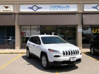 Used 2015 Jeep Cherokee 4X4, Only 41K km, Backup Camera for sale in Vaughan, ON