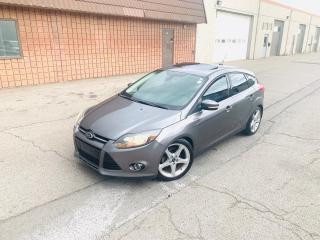 Used 2012 Ford Focus TITANIUM | NAVI | CAM | BLUETOOTH for sale in Burlington, ON