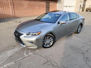 Used 2017 Lexus ES 300 h HYBRID | ONE OWNER | LIKE NEW COND for sale in Burlington, ON