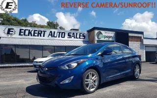 Used 2014 Hyundai Elantra Coupe GLS/REVERSE CAMERA/SUNROOF!! for sale in Barrie, ON
