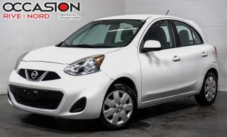 Used 2015 Nissan Micra SV BLUETOOTH+A/C+CAM.RECUL for sale in Boisbriand, QC