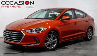 Used 2018 Hyundai Elantra GL SIEGES.CHAUFFANTS+BLUETOOTH+CAM.RECUL for sale in Boisbriand, QC