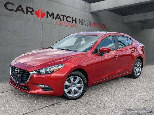 2017 Mazda MAZDA3 GX / AUTO / AC / 70,523 KM