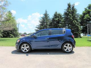 Used 2013 Chevrolet Sonic LTZ Hatchback for sale in Thornton, ON