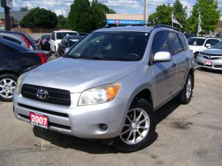 Used 2007 Toyota RAV4 AWD,AUX,CERTIFIED,NO ACCIDENT,TINTED,ALLOYS, for sale in Kitchener, ON
