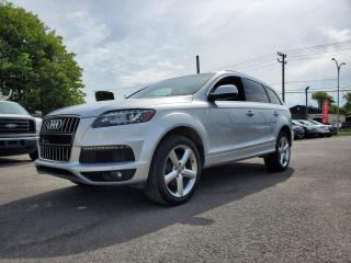 Used 2015 Audi Q7 *S-LINE*7 PASSAGERS*TOIT*NAV*CAMERA* 180$/SEM for sale in St-Jérôme, QC