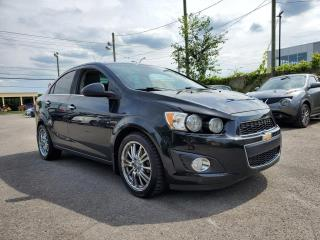 Used 2013 Chevrolet Sonic *TOIT*BT*SIÈGES CH*CUIR* 52$/SEMAINE for sale in St-Jérôme, QC