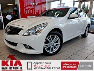 Used 2013 Infiniti G37 X AWD ** TOIT OUVRANT / CUIR for sale in St-Hyacinthe, QC