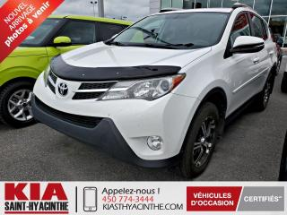 Used 2015 Toyota RAV4 ** EN ATTENTE D'APPROBATION ** for sale in St-Hyacinthe, QC