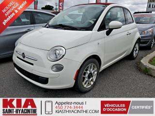 Used 2012 Fiat 500 C Décapotable 2 portes for sale in St-Hyacinthe, QC