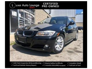 Used 2011 BMW 3 Series 323i, LEATHER, HEATED SEATS, SUNROOF!! for sale in Orleans, ON