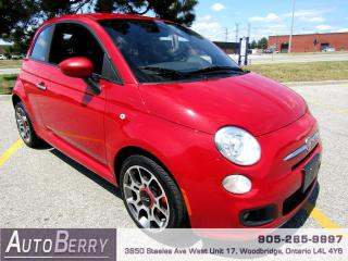 Used 2013 Fiat 500 Sport - Auto for sale in Woodbridge, ON