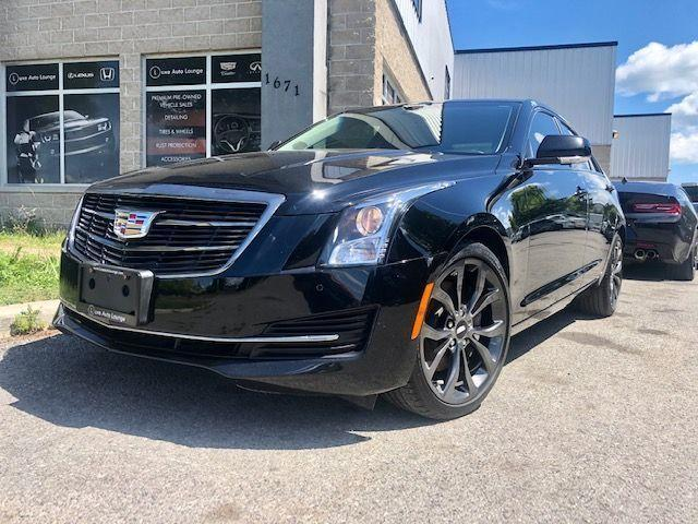 2016 Cadillac ATS Luxury Collection AWD BLACK CHROME PKG! NAV, BOSE!