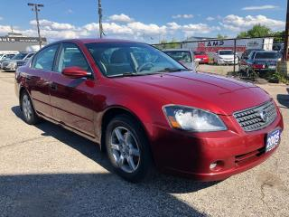 Used 2005 Nissan Altima 2.5 S, ACCIDENT FREE, WARRANTY, CERTIFIED for sale in Woodbridge, ON