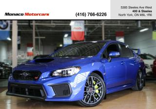 Used 2019 Subaru WRX STi SPORT - BLIDNSPOT|SUNROOF|BACKUP|SPOILER for sale in North York, ON