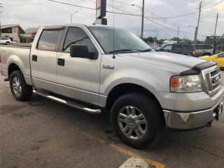 Used 2008 Ford F-150 4WD SuperCrew XLT, ACCIDENT FREE, WARRANTY, CERTIF for sale in Woodbridge, ON