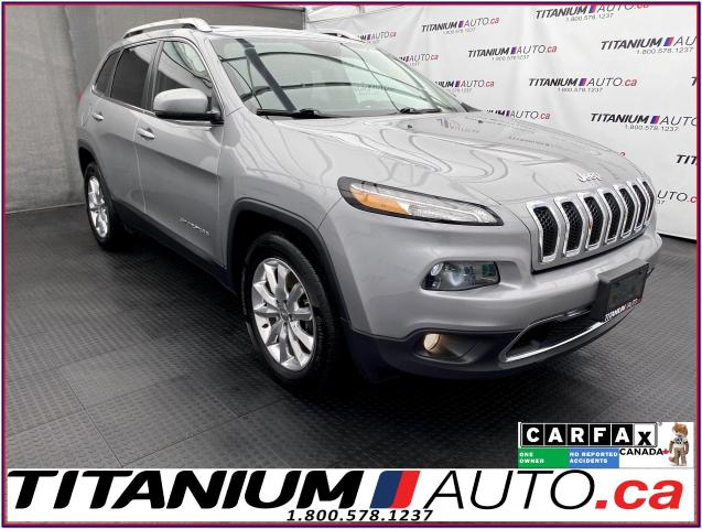 2016 Jeep Cherokee Limited+4X4+V6+GPS+Camera+Pano Roof+Cooled Leather