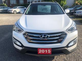 Used 2015 Hyundai Santa Fe Sport Luxury for sale in Hamilton, ON